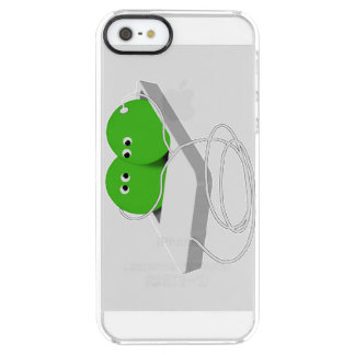 Two Peas In A Pod (Add Your Text) Uncommon Clearly™ Deflector iPhone 5 Case