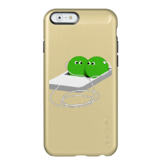 Two Peas In A Pod (Add Your Text) Incipio Feather® Shine iPhone 6 Case