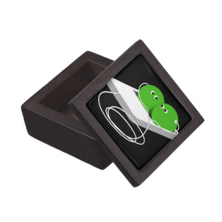 Two Peas In A Pod (Add Your Text) Jewelry Box