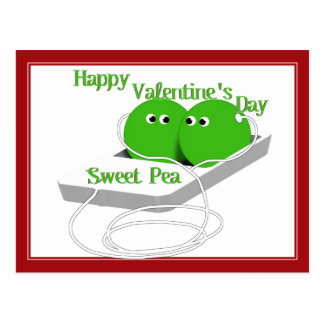 Two Peas In A Pod (Add Your Text) Postcard