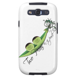 Two Peas In A Pod | boy twins Galaxy S3 Cover