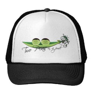 Two Peas In A Pod | boy twins Mesh Hat