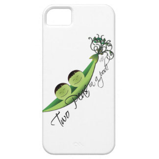 Two Peas In A Pod   boy twins iPhone SE/5/5s Case
