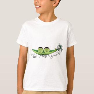 Two Peas In A Pod | boy twins T-Shirt