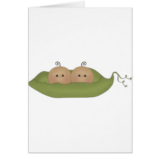 Two Peas In A Pod Greeting Cards