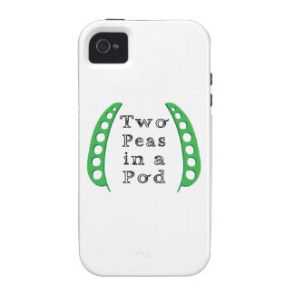 Two Peas in a Pod iPhone 4/4S Cover