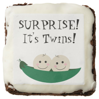 Two Peas in a Pod Chocolate Brownie