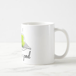 Two Peas in a Pod Classic White Coffee Mug
