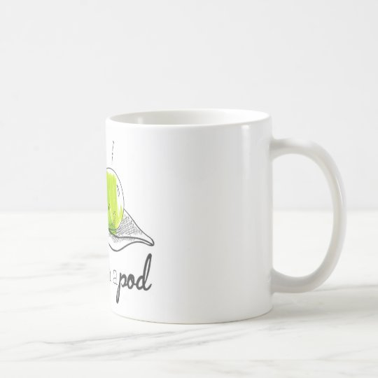 Two Peas in a Pod Coffee Mug