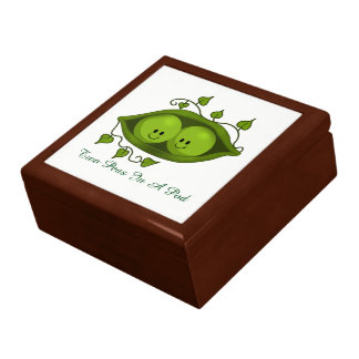 Two Peas In A Pod Jewelry Box
