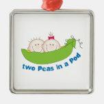 Two Peas In A Pod Ornament