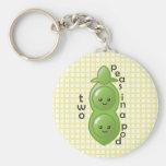 Two Peas in a Pod - Peas Key Chain