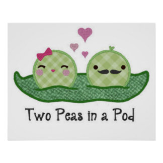 Two Peas in a Pod Poster