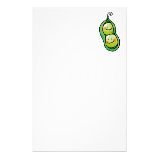 Two peas in a pod stationery