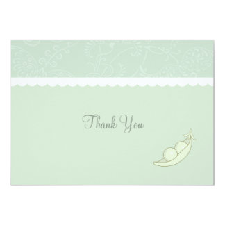Two Peas In A Pod Thank You Card