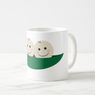 Two Peas in a Pod Twins Baby Coffee Mug