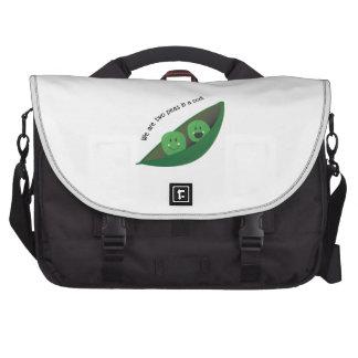 Two Peas in Pod Laptop Messenger Bag