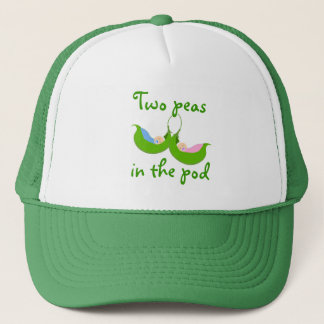 """""""Two Peas in the  Pod"""" Hat"""
