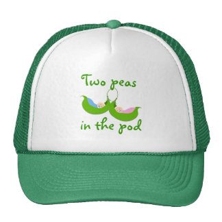 """Two Peas in the  Pod"" Hat"