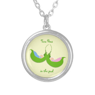 """Two Peas in the  Pod"" Necklace"