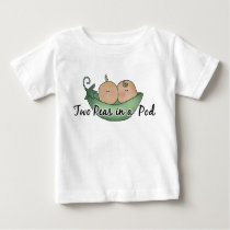 Two Peas Twin unisex baby t-shirt