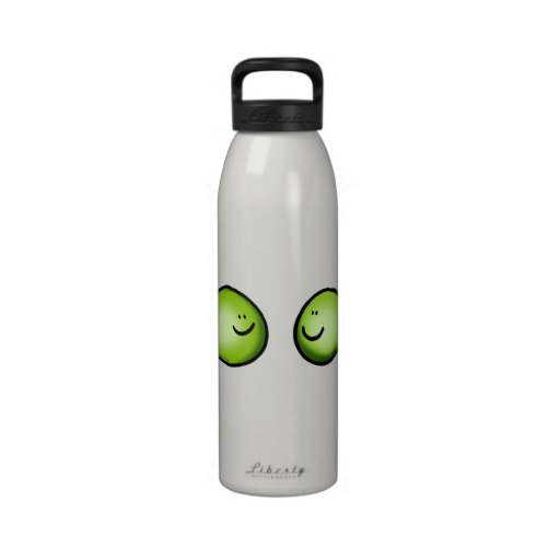 two peas reusable water bottle