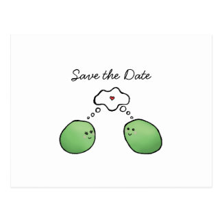 Two Peas Without a Pod Postcard