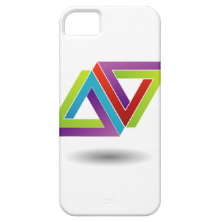 Two pen rose triangles iPhone 5 cover
