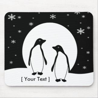 Two Penguins  Mousepad