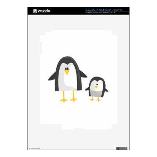Two Penguins iPad 3 Decals