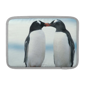 Two Penguins touching beaks Sleeve For MacBook Air