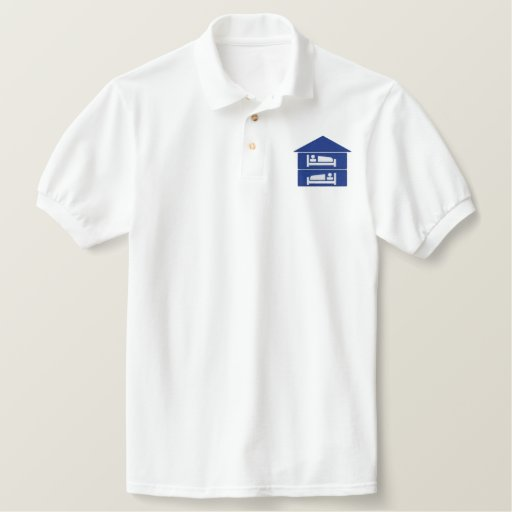 TWO PERSON EMBROIDERED POLO SHIRT