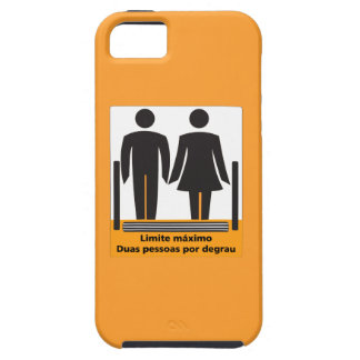 Two Persons by Step Sign, Brazil iPhone 5 Cover