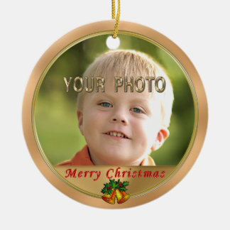 Two Photo Christmas Ornaments with INSTRUCTIONS