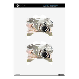 Two pigs making contact xbox 360 controller decal