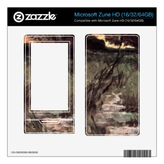 Two pigs on pasture by Giovanni Fattori Decals For The Zune HD