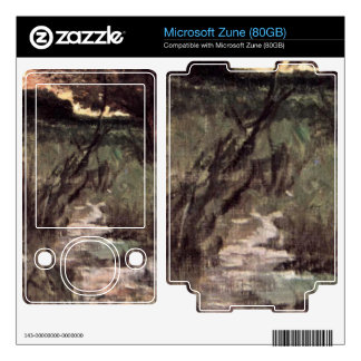 Two pigs on pasture by Giovanni Fattori Skins For Zune