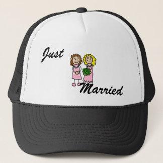 Two Pink Brides Trucker Hat