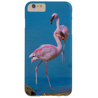 Two Pink Flamingos Barely There iPhone 6 Plus Case