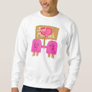 Two Pink Just Married Sweatshirt