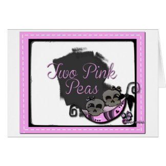 Two Pink Pea's Card