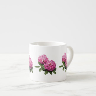Two Pink Rhododendrons Espresso Cup