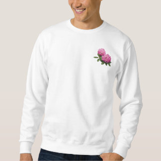 Two Pink Rhododendrons Mens Sweatshirt