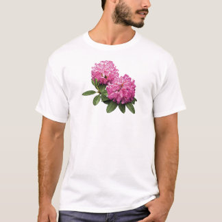 Two Pink Rhododendrons Mens T-Shirt