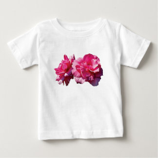 Two Pink Roses Infants Shirt