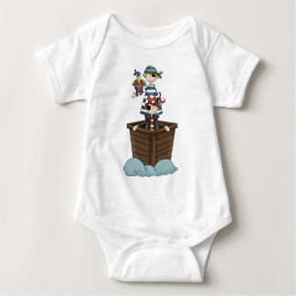 Two pirates baby bodysuit