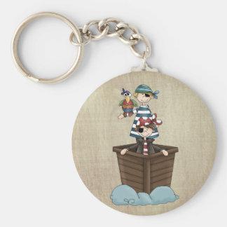 Two Pirates Keychain