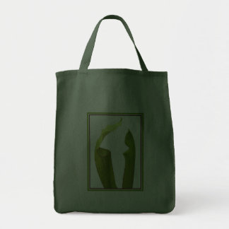 Two Pitcher Plants Grocery Tote Bag