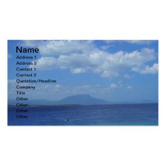 TWO PLAYA ALCIA BEACH SOSUA DOMINICAN REPUBLIC SUR BUSINESS CARD