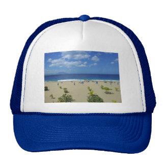 TWO PLAYA ALCIA BEACH SOSUA DOMINICAN REPUBLIC SUR MESH HATS